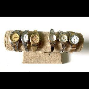 Watch Lot Vintage timex Seiko Milan
